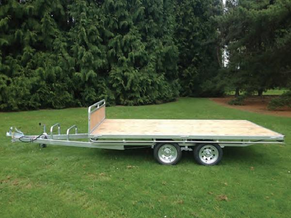 Hecton Flat Deck Tandem Axle Trailer