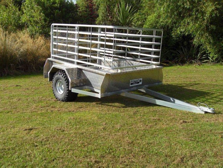 Hecton Single Axle ATV Trailer