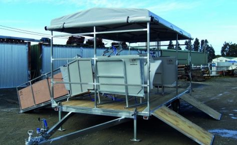 Tandem Contractors Crutching Trailers