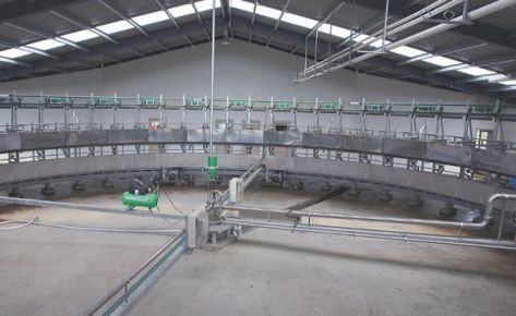 Rotary Meal & Molasses Feed Systems